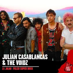 Julian Casablancas & The Voidz confirmados!