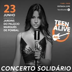 Teen Alive Aid com April Ivy