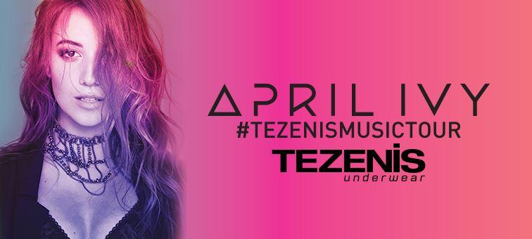 April Ivy #TezenisMusicTour