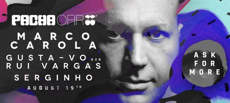 Pacha Ofir | Ask For More with Marco Carola