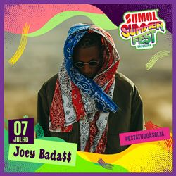 Confirmado no Sumol Summer Fest!