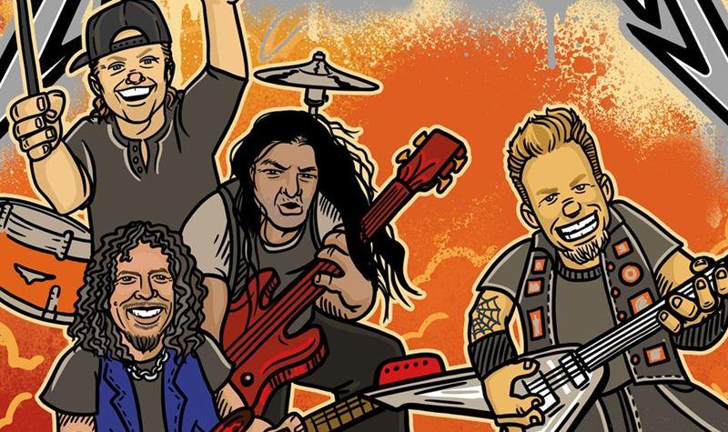 Metallica trocados por (para) miúdos