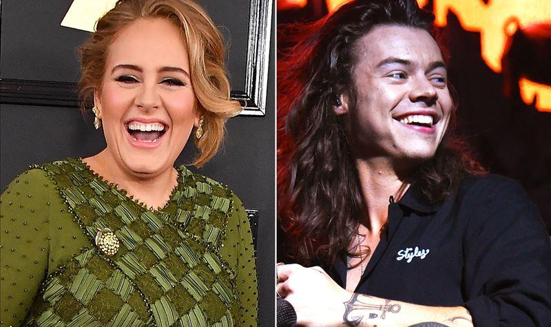 Harry Styles e Adele juntos?