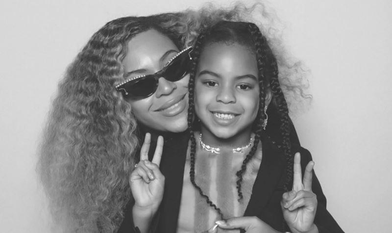 """Beyoncé tem um """"ícone cultural"""" em casa!"""
