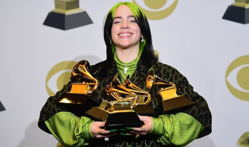 A noite de Billie Eilish!