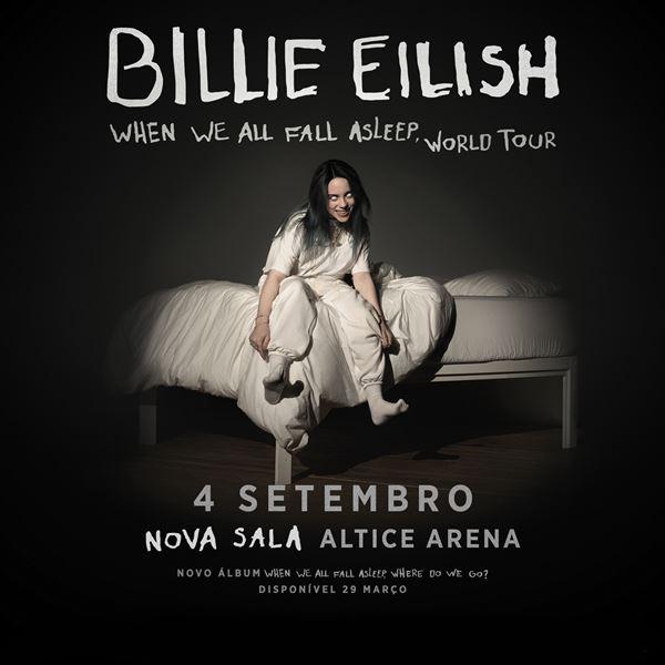 Billie Eilish em Portugal. Nova sala!