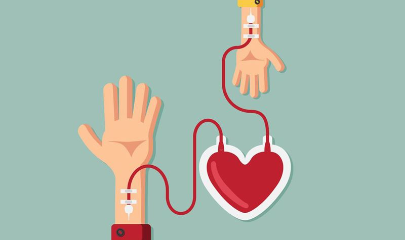 Dá sangue! Ajuda a salvar vidas!
