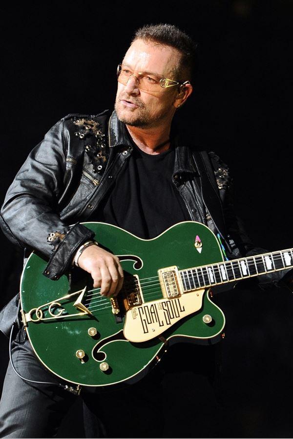 A homenagem de Bono Vox