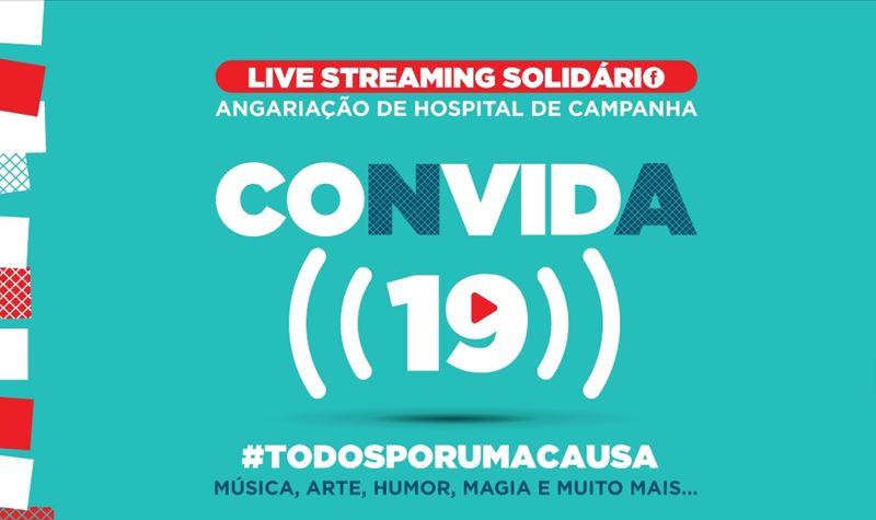 """""""CONVIDA 19"""" e ajuda a criar um Hospital de Campanha"""
