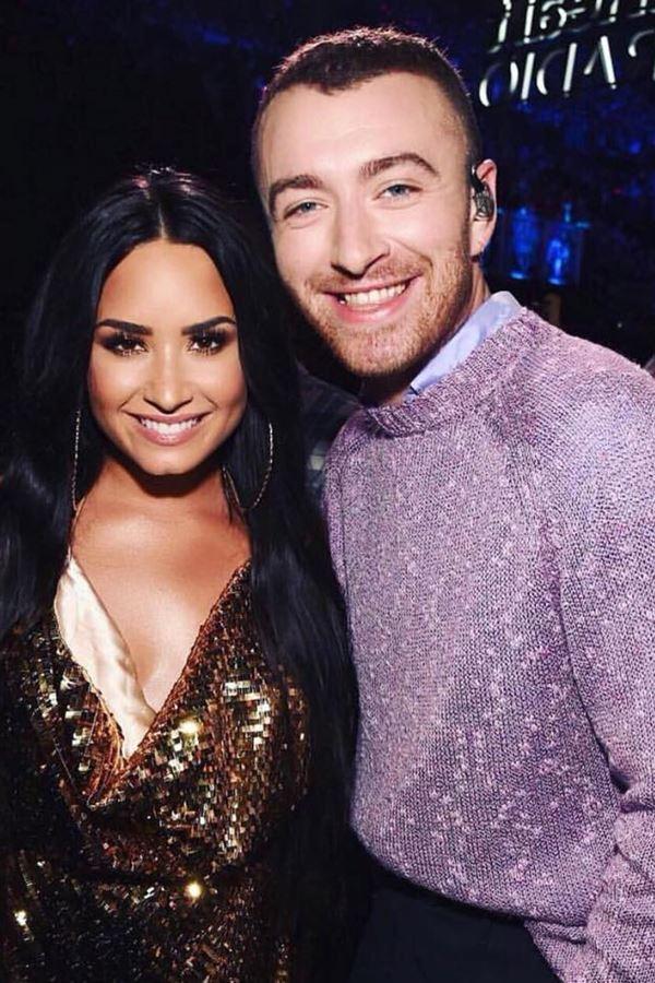 Sam Smith e Demi Lovato (finalmente) juntos