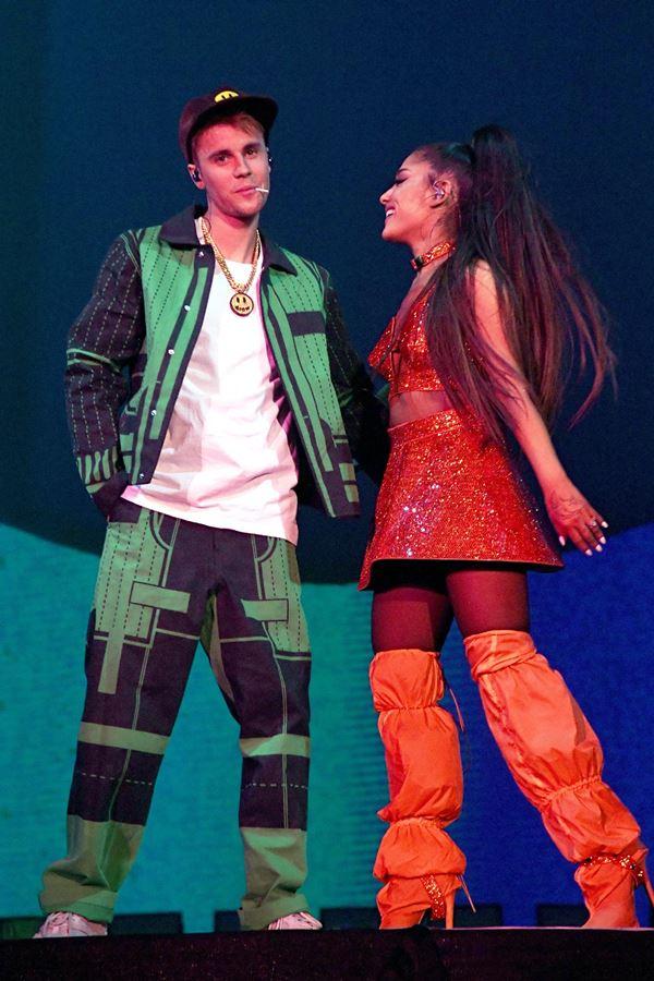 Justin e Ariana: juntos por uma boa causa!