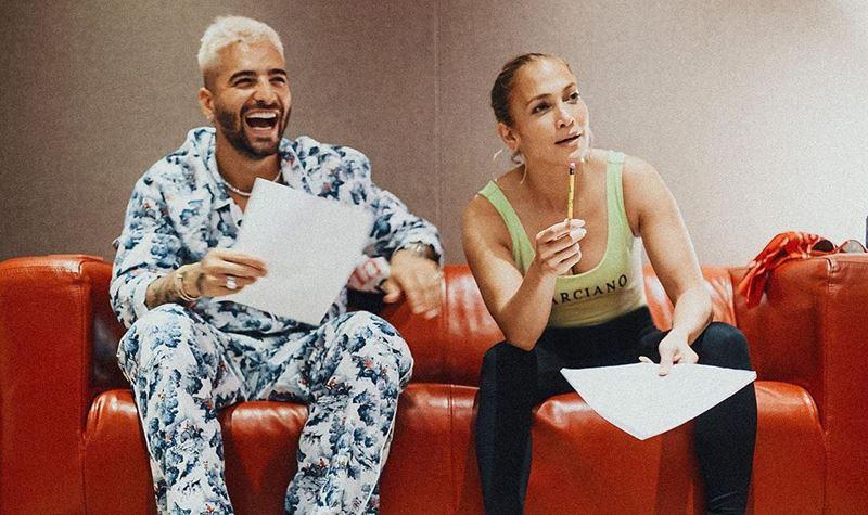 Maluma e J-Lo lançam músicas no TikTok