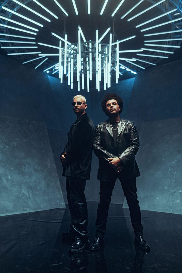 O que fazem Maluma e The Weeknd juntos?