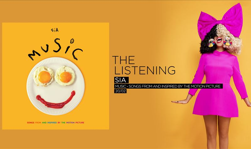 SIA   MUSIC - SONGS FROM AND INSPIRED BY THE MOTION PICTURE