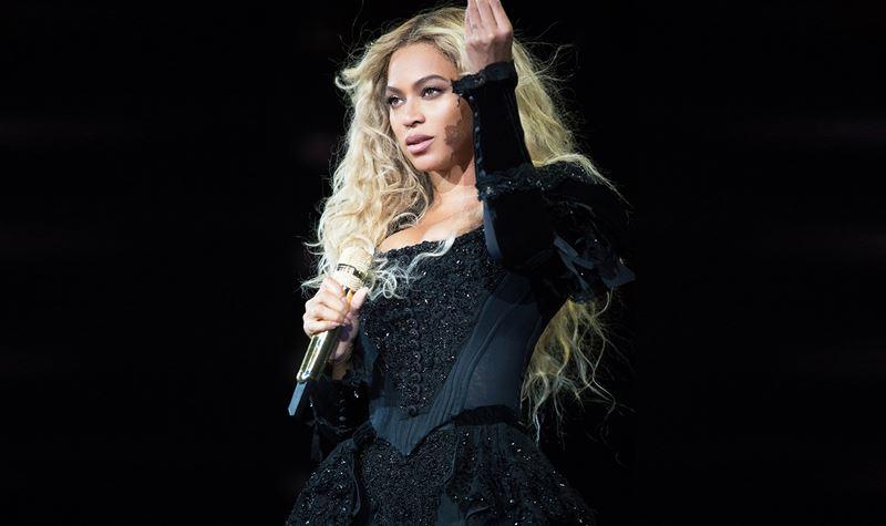 Vestida à Beyoncé!