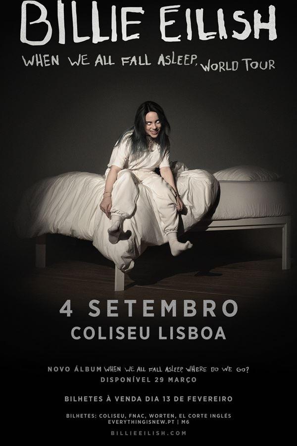 Billie Eilish em Portugal