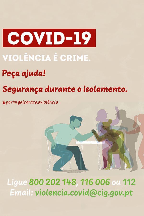 Violência é crime!