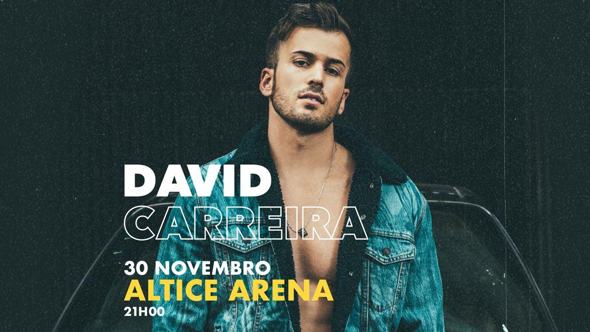 David Carreira Altice Arena 360