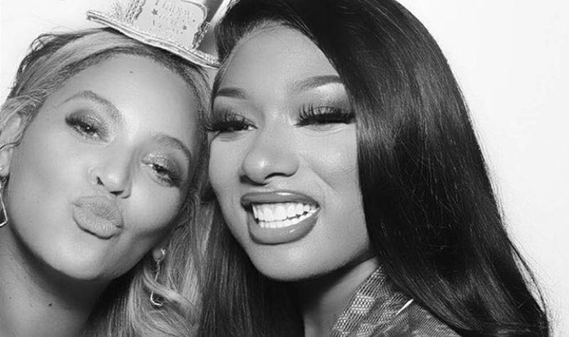 Megan e Beyoncé: a dupla imbatível!