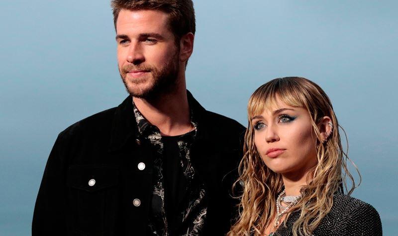 Miley Cyrus separou-se