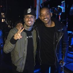o que fazem Will Smith e Nicky Jam juntos?