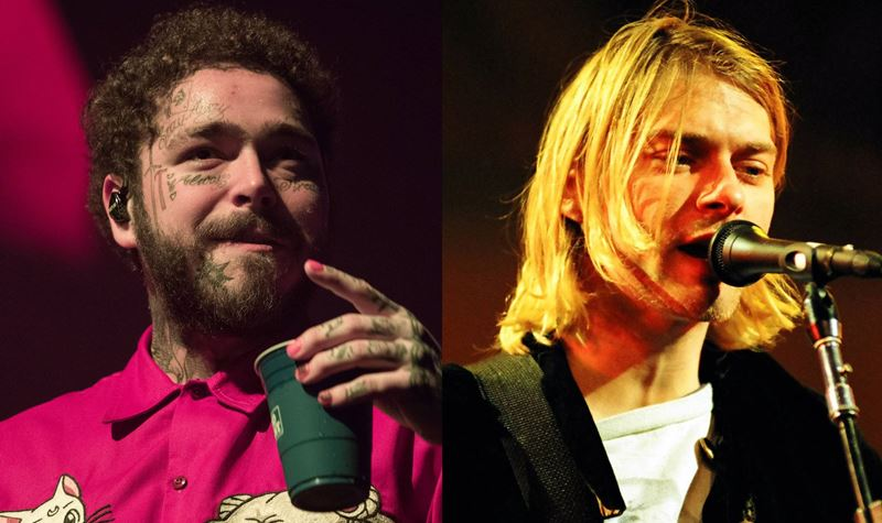 O tributo de Post Malone aos Nirvana