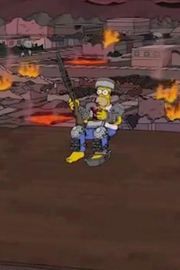 Os Simpsons previram!