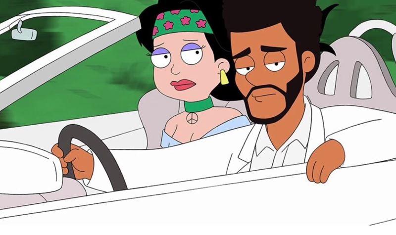 "The Weeknd brilha no ""American Dad!"""
