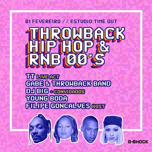 Throwback Hip-Hop e R&B 00