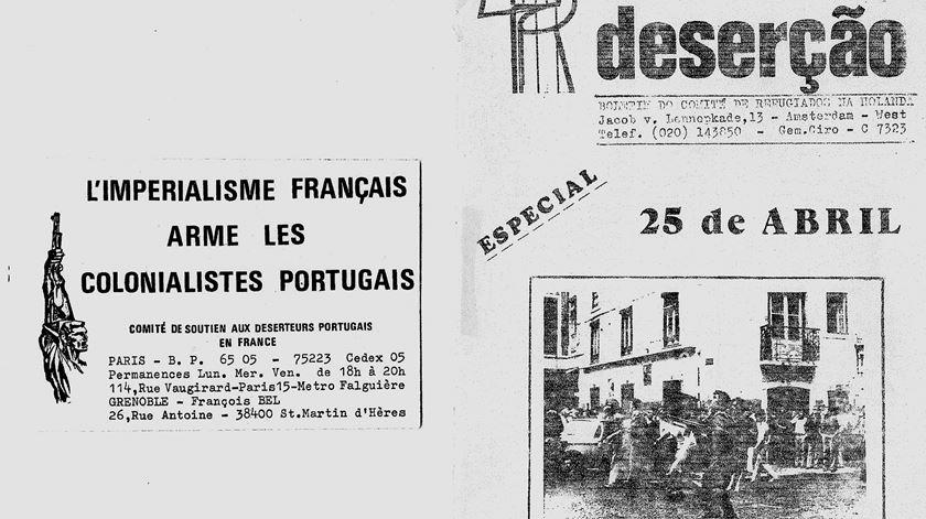 """""""O país ainda não absolveu os desertores da guerra colonial"""""""