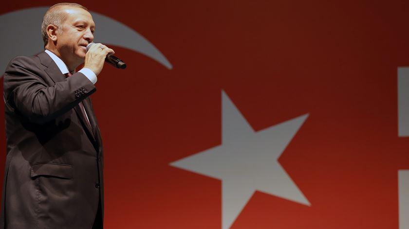 Ergodan, o homem forte da Turquia. Foto: EPA