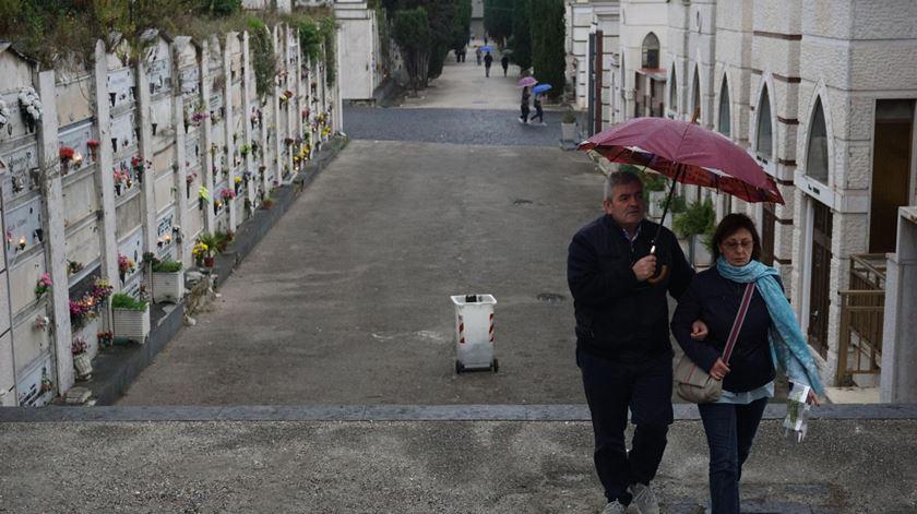 1 e 2 de novembro. Cemitérios de Viana vão estar abertos, cada pessoa tem limite de 30 minutos