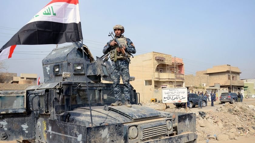 Campanha militar para libertar Iraque está prestes a terminar. E depois? Foto: EPA