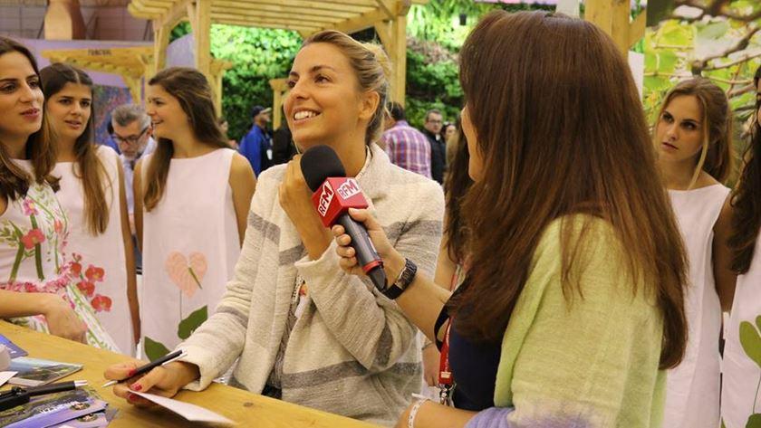 Jessica Athaíde em entrevista à RFM com Ana Colaço