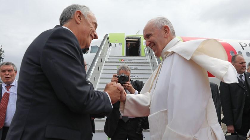 """""""Viva o Papa!"""". Terminou a visita de Francisco a Portugal"""