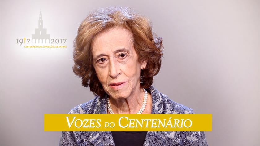 """Manuela Ferreira Leite: """"Fátima é um milagre, mesmo que eu não tivesse fé"""""""