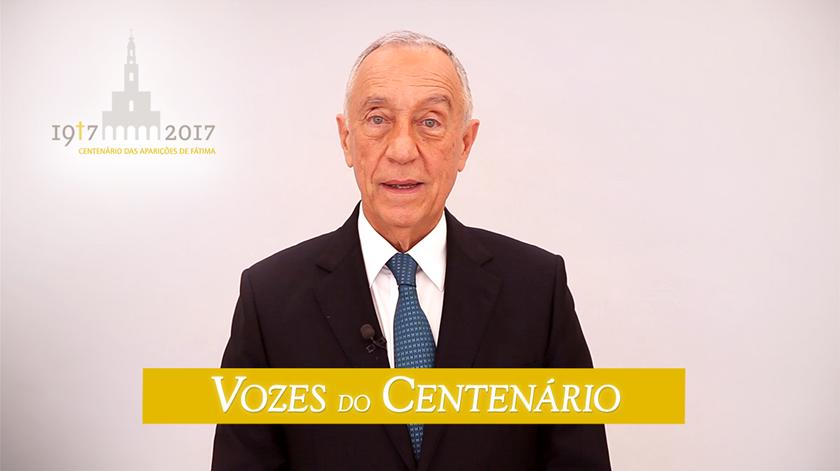 """Marcelo Rebelo de Sousa: """"Fátima é a visão do ser humano"""""""