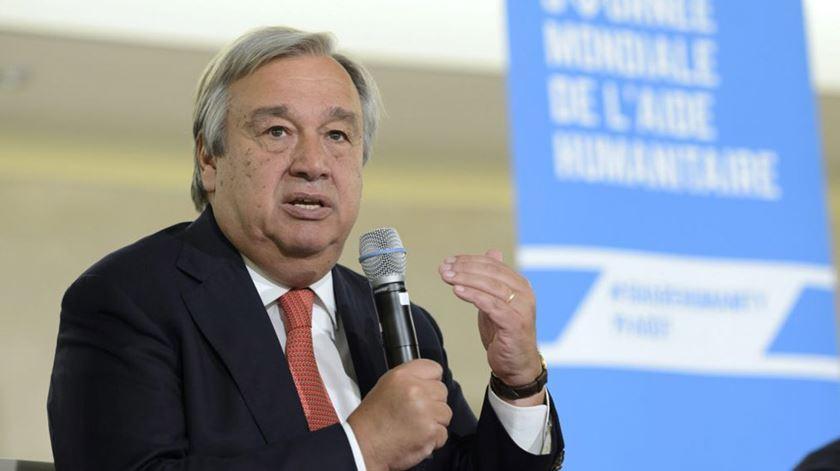 """Guterres diz aos 28: É tempo de a UE """"pôr a casa em ordem"""""""