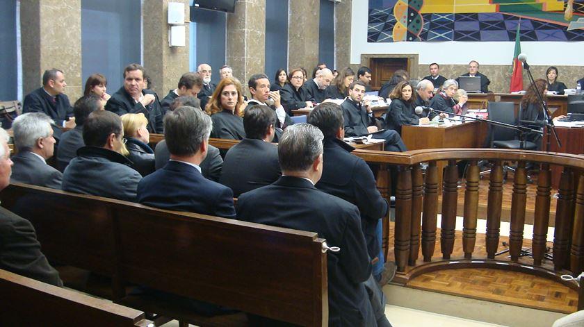 Arguido Manuel Guiomar entrega-se na prisão de Castelo Branco