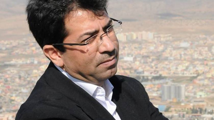 Mirza Dinnayi, activista yazidi. Foto: DR