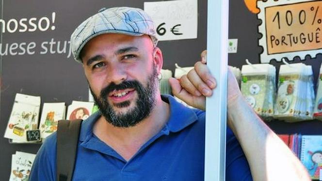 Afonso Cruz vence prémio literário da União Europeia