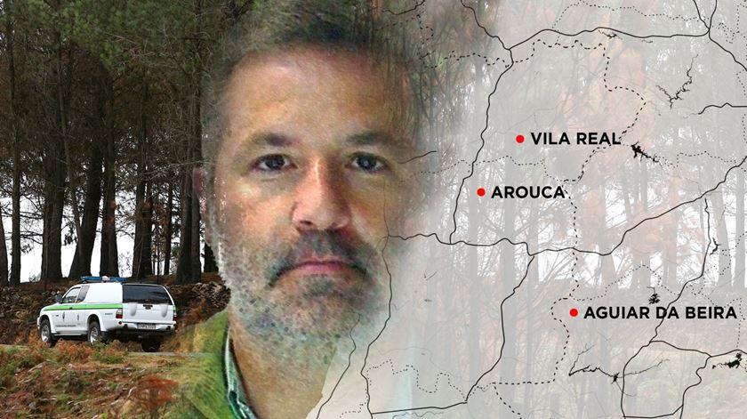 """A fuga de Pedro Dias. Dos crimes de Aguiar da Beira ao """"reality show"""""""