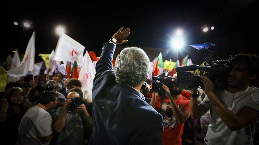 Costa tem apelado ao voto útil, Foto: Mário Cruz/Lusa