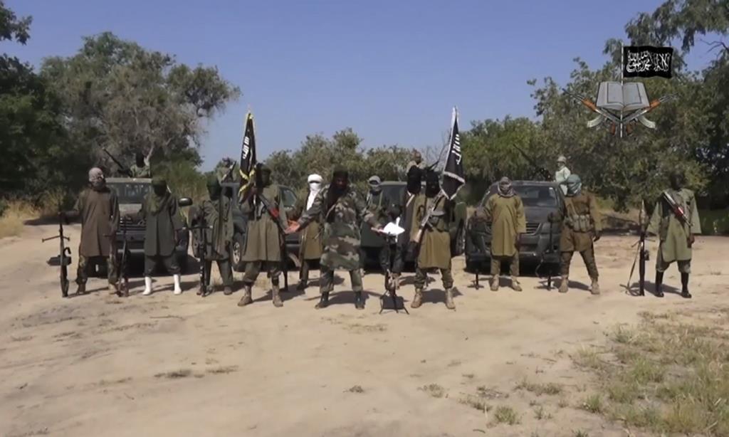 Militantes do Boko Haram. Foto: YouTube