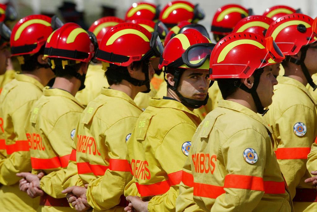 Associação Portuguesa dos Bombeiros Voluntários pediu hoje a vacinação contra a Covid-19. Foto: Lusa
