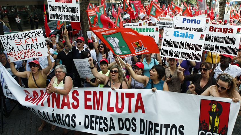 Trabalhadores das cantinas escolares protestam contra precariedade na próxima terça-feira