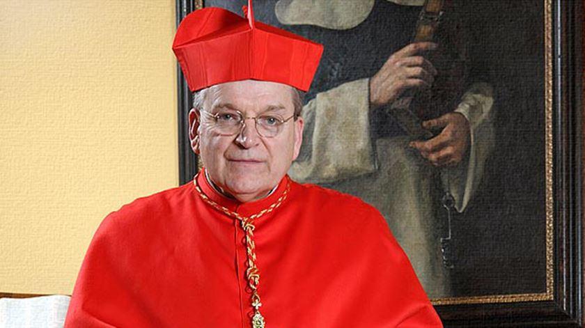 O Cardeal Raymond Burke, um dos autores da carta aberta. Foto: DR