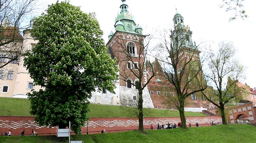O Castelo Wawel é uma das principais atracções de Cracóvia