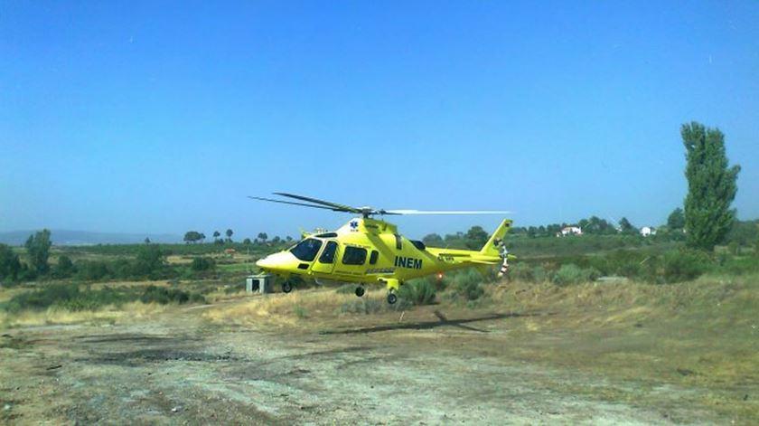 Cidadã espanhola resgatada por helicóptero depois de queda no rio Poio