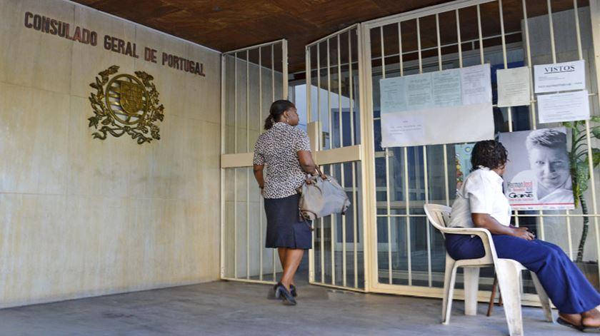 Consulado de Portugal em Maputo, Mocambique. Foto: DR